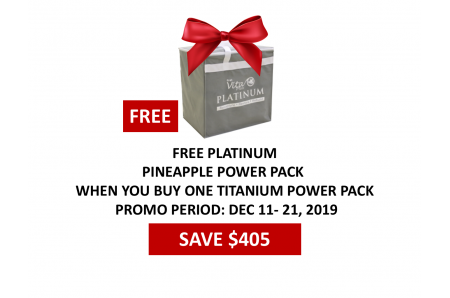 FVP Pineapple Platinum Power Pack