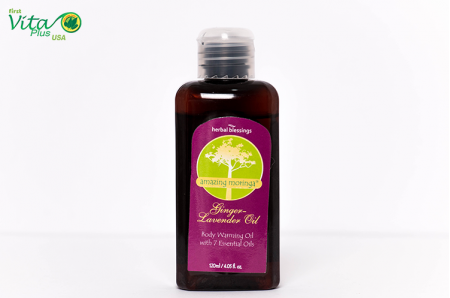 Amazing Moringa Oil of Life: Ginger-Lavender Oil
