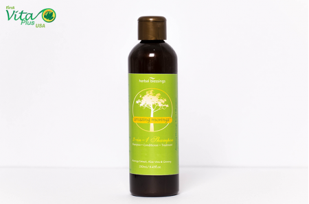 Amazing Moringa 3 in 1 Hair Shampoo