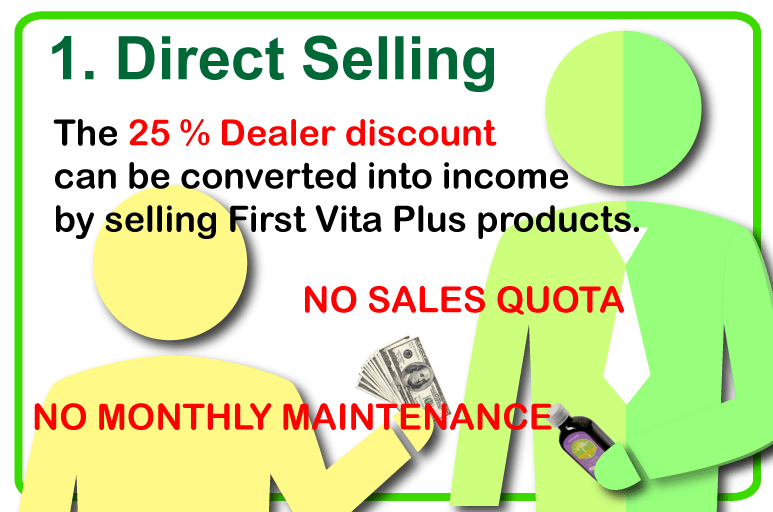 direct selling first vita plus USA